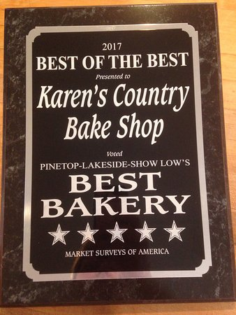 Karens Cafe: Thank you for voting us Best Bakery 😊