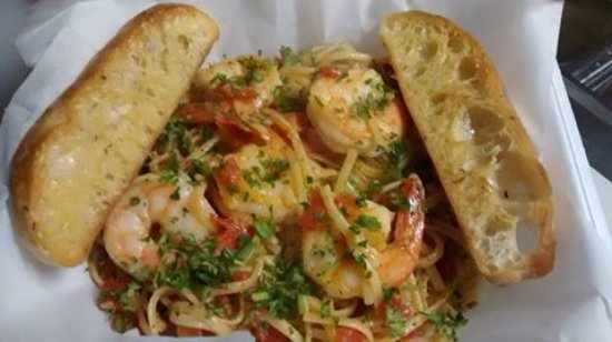 West Union, IA: Shrimp Scampi