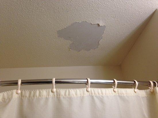 bathroom ceiling repair. Best Western Dodgeville Inn \u0026 Suites: Bathroom Ceiling Above Shower. Mold Repair? Water Repair B