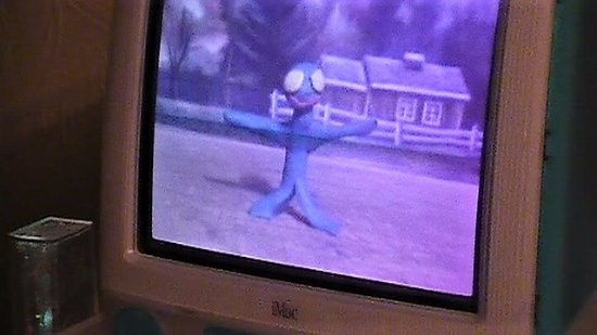 Lee, MA: Playing out Stop Action Animated Movie made in museum my granddaugher