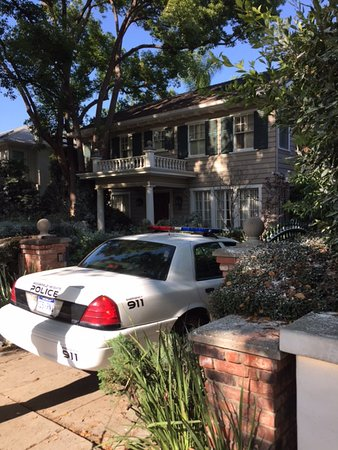 "Beverly Hills, CA: American Horror Story 7, recently using the Hollywood house from ""Halloween"" for a filming locat"