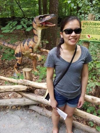 Virginia Living Museum : velociraptor