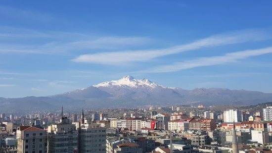 Hilton Kayseri: View from balcony in room