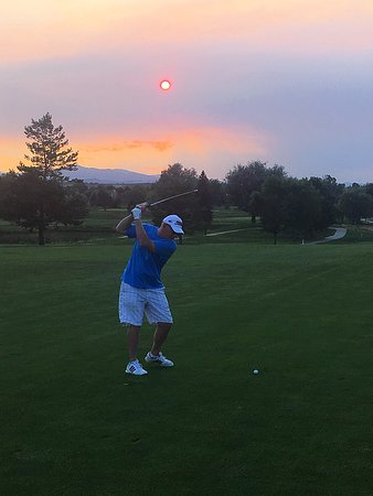Olde Course at Loveland: Sunset golf special comes with great sunsets