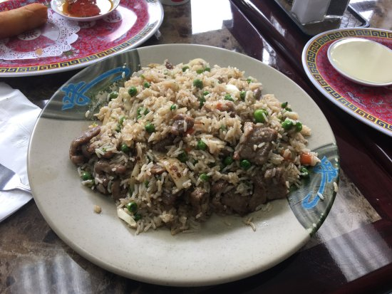 Beef Fried Rice - Picture of 123 thai, Port Townsend ...