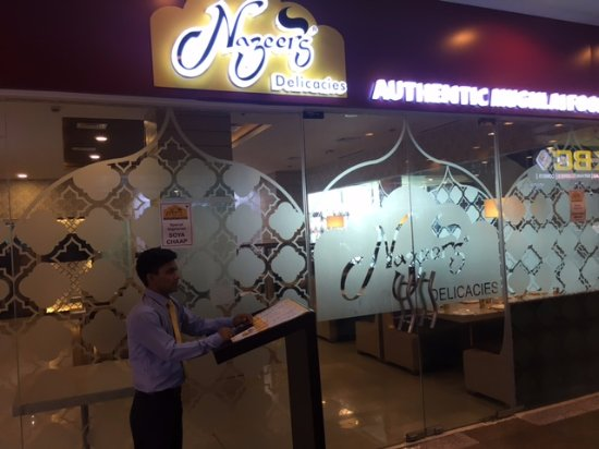 Nazeer Delicacies : Main Entrence