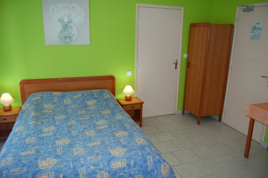 Beaumont-en-Veron, Frankrike: Chambre double