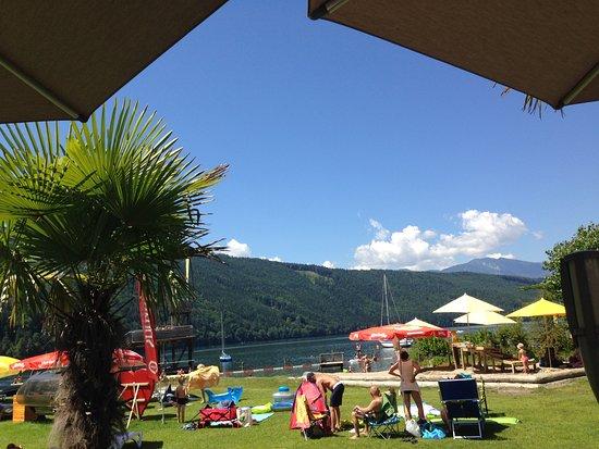 Dobriach, Austria: Das Strandbad