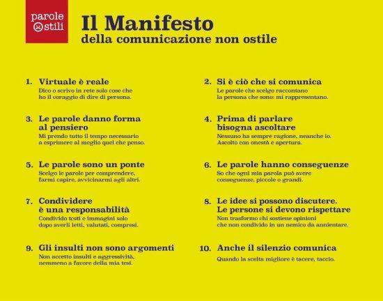 anche Narni Sotterranea ha firmato il manifesto della comunicazione non ostile
