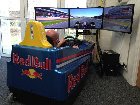 Mildenhall, UK: F1 car