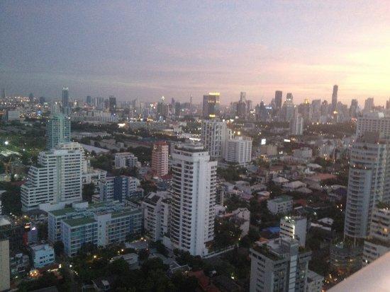 Sofitel Bangkok Sukhumvit: View from rooftop bar/restaurant