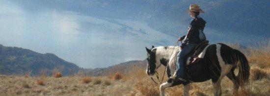 Faido, Sveits: Horseback Riding at Osco