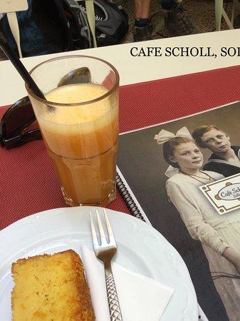 Café Scholl: Gutes aus Orangen