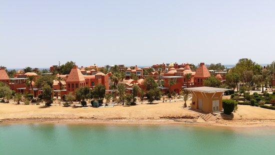 Sheraton Miramar Resort El Gouna: Blick vom Balkon.