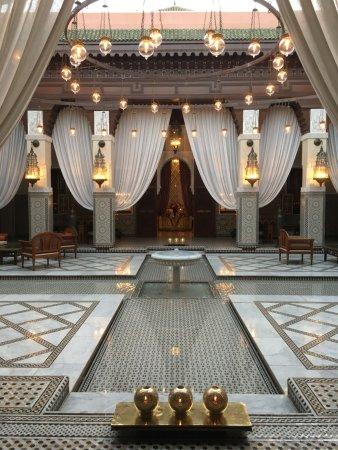 Royal Mansour Bar: Entrée