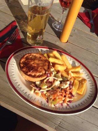 Knighton, UK: Free Ranger Pie