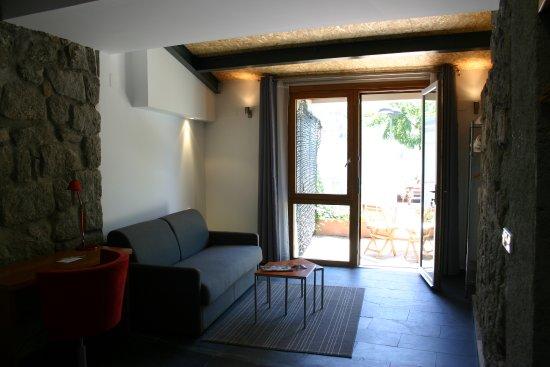 Posada del Agua: Nuestra suite con salida directa al jardín, perfecta para venir con tu perro