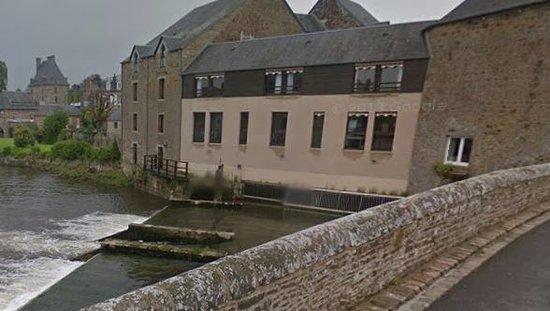 Ducey, Francia: Vue du pont
