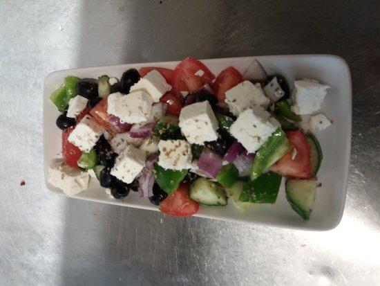 Pantymwyn, UK: greek salad