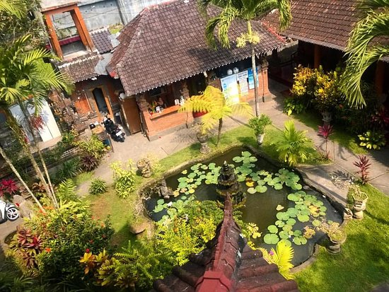 Gayatri Bungalows: Pretty sure this is a photo taken by the owners! Kept because I love it