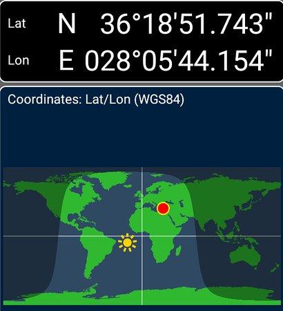 gps coordinates of stolidi psinthou Picture of To Stolidi tis