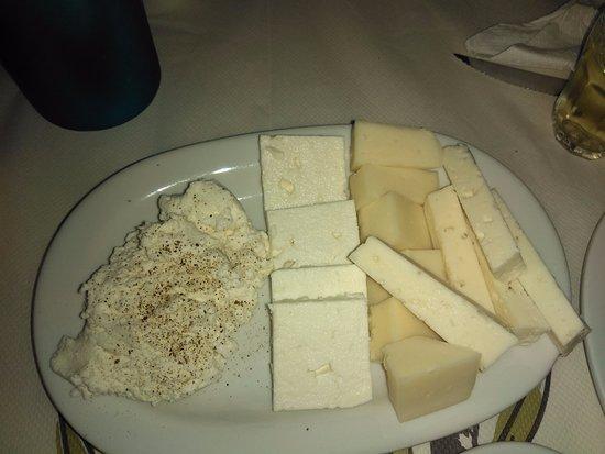 Galini, Grecja: mix formaggi