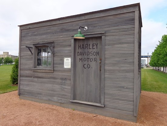 The shed picture of harley davidson museum milwaukee for Garden shed tripadvisor