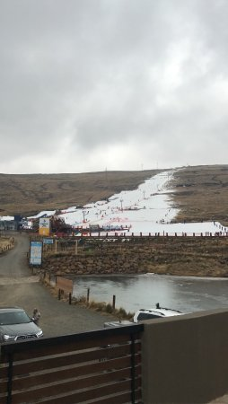 Afriski Mountain Resort: I know it doesn't look like much but still worth the trip!