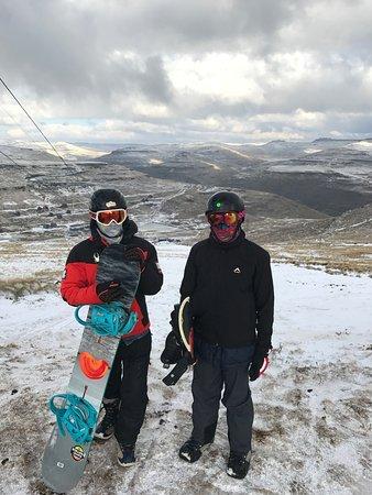Afriski Mountain Resort: Yes, it snows up here!