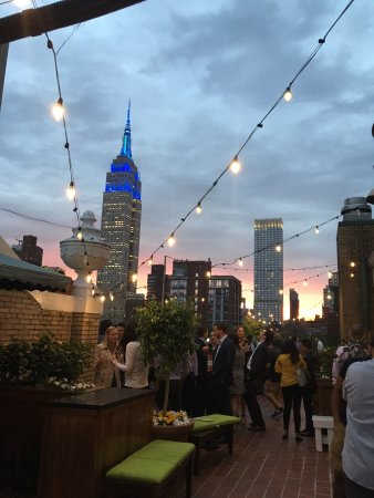Shelburne NYC–an Affinia hotel: Rooftop bar