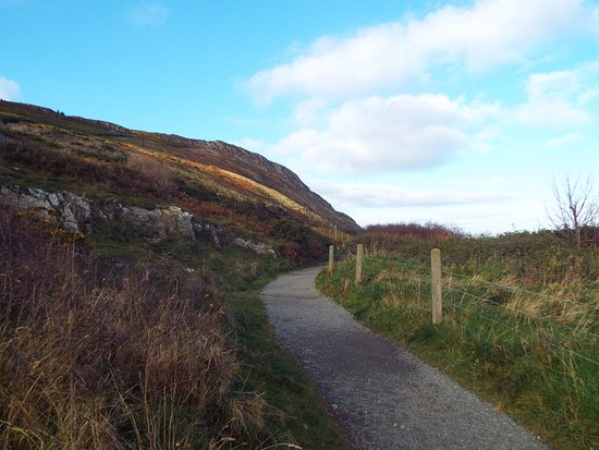 The Bray to Greystones Cliff Walk: Bray to Greystones Walk