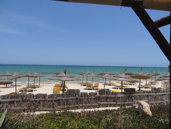 Safira Palms Hotel & Spa : Très belle plage