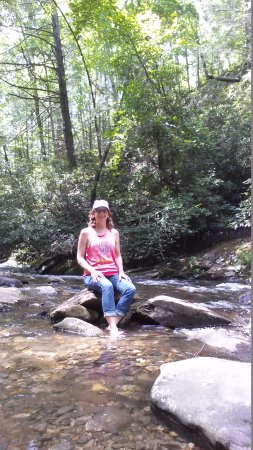 Chattahoochee River: Spent lots of time just enjoying the beauty of this river while hubby trout fished nearby