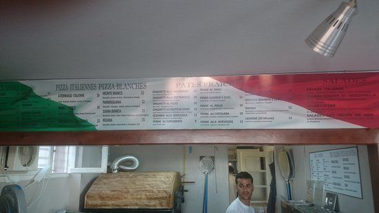 Gouvernement Mahdia, Tunesien: Вкусная пицца