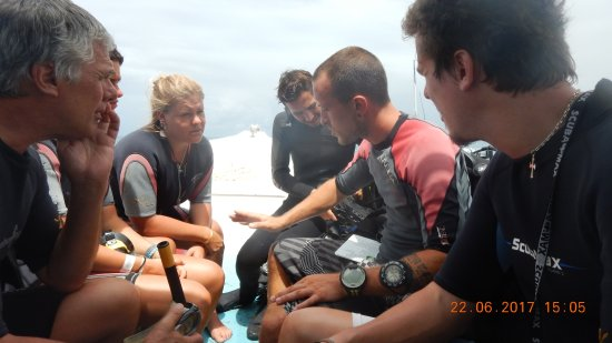 Bayahibe, Dominican Republic: Last theory before diving