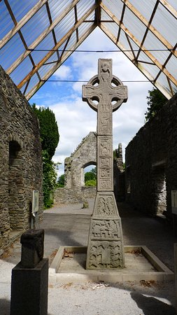 County Kildare, Irlanda: High Cross near Moone