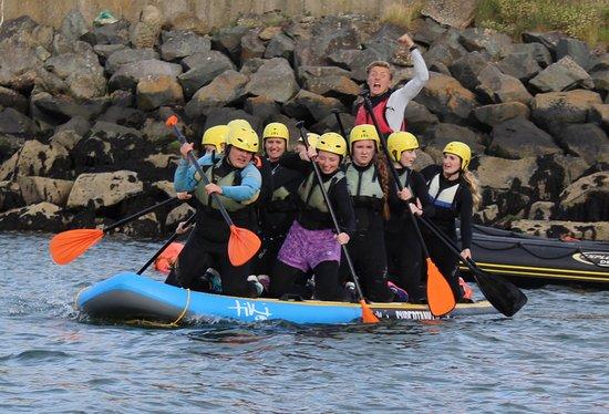 Dunmore East, Ιρλανδία: Giant SUPPing!