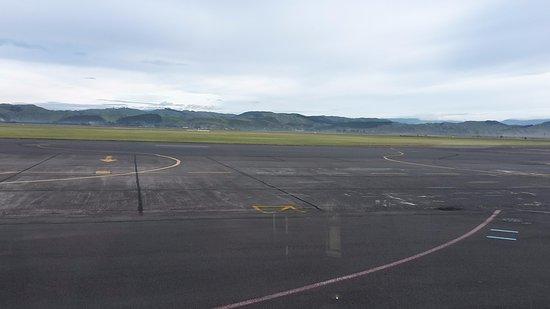Hawke's Bay Region, New Zealand: Hawke's Bay Airport, Napier