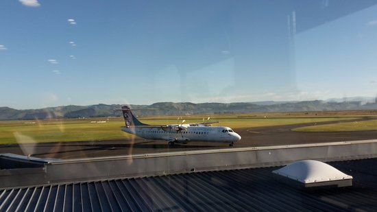 Hawke's Bay Region, New Zealand: Hawke's Bay Airport, Napier