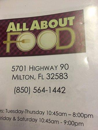 Milton, FL: Located in a strip mall