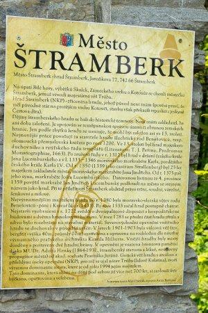 Stramberk, Czech Republic: Info on the Castle/Tower