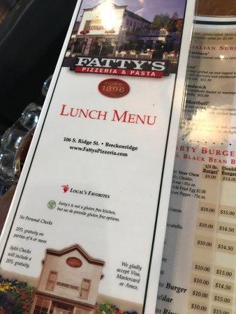 Fatty's Pizzeria: photo0.jpg