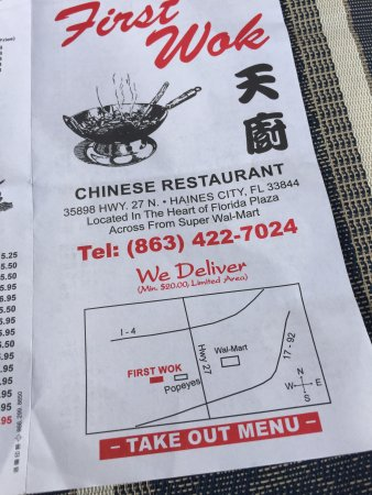 First Wok Chinese Restaurant