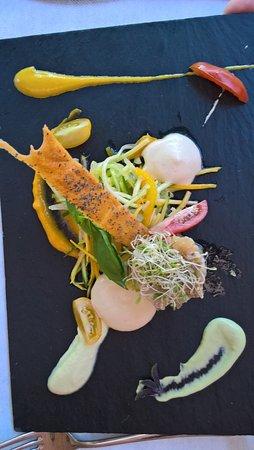 Pamiers, France: tartare de truite bio