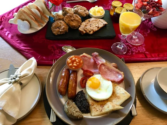 County Londonderry, UK: Breakfast at 2 Drummond!
