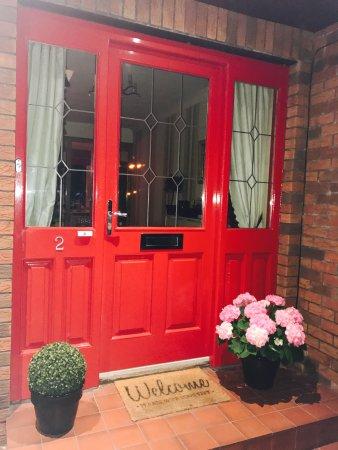 County Londonderry, UK: Front Door - always a welcome !