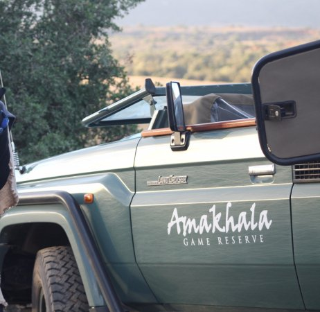 Amakhala Game Reserve, South Africa: safari/ Game party