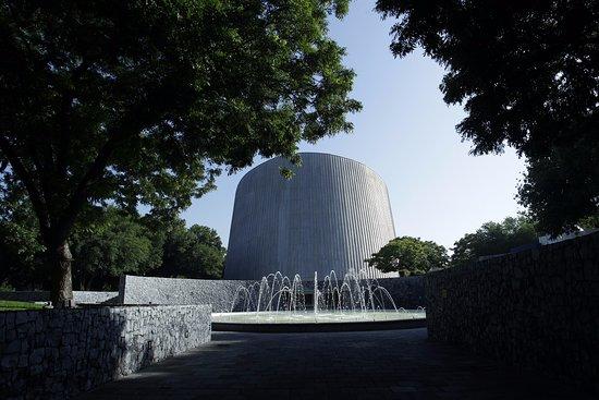 San Pedro Garza Garcia, Meksyk: Fachada principal del museo del Planetario Alfa