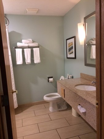 Holiday Inn Express Munising -  Lakeview: Clean, Efficient Bath