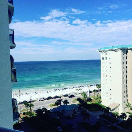 Surfside Resort: Tenth floor side view